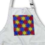 click on Primary Colors Red Yellow and Blue triangles arranged to how all the intermediate colors to enlarge!