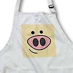click on Cute Happy Pig Face to enlarge!
