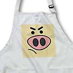 click on Cute Angry Pig Face to enlarge!