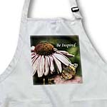 click on Be Inspired Pink Echinacea with Butterfly Floral Print - Flowers to enlarge!