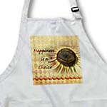 click on Happiness is A Choice Sunflower Orange Pattern Floral Print to enlarge!