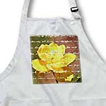 click on Yellow Rose Inspirational Writing is on the Wall Floral Print - Flowers to enlarge!