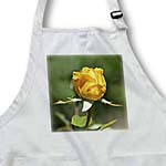 click on Pretty Yellow Rose Bud - Flowers - Floral Print to enlarge!