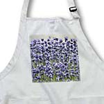 click on Field of Lavender Flowers - Romantic Gardens - Floral Print to enlarge!