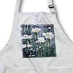 click on Crackled Daisies - Garden of Flowers - Floral Print to enlarge!