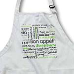 click on Green Bon Appetit Kitchen Typography Text Art - Words for Enjoy Your Meal in different languages to enlarge!