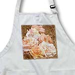 click on Leather Style Floral Rose Print - Inspired Flowers to enlarge!