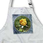 click on Inspired Yellow Rose with Poetic Words - Beautiful Garden Flowers to enlarge!