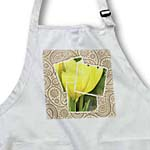 click on Pretty Yellow Tulips Paisley Print - Flowers to enlarge!