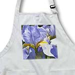 click on Pretty Iris Floral - Beautiful Spring Gardens - Flowers to enlarge!