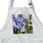 click on Pretty Iris Flowers - Floral Print - Gardens to enlarge!
