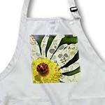 click on Whimsical Daisy and Ladybud Floral - Spring Flowers to enlarge!