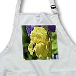 click on Pretty Yellow Iris Inspired Garden Floral Print - Flowers to enlarge!