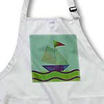 click on Sail Boat, Green and Purple to enlarge!
