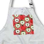 click on For the Kitchen - Half Apple Print Red to enlarge!