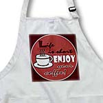 click on Coffee Lover Gift - Life is Short Enjoy Your Coffee - Red to enlarge!