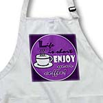 click on Coffee Lover Gift - Life is Short Enjoy Your Coffee - Purple to enlarge!