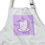 click on Tea Lover Gift - Tea Words Print - Purple to enlarge!