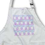 click on Tea Lover Gift - Cute Tea Cups Print - Light Blue and Purple to enlarge!