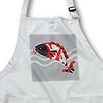 click on Koi Fish Grey Face - Traditional Colors to enlarge!