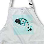 click on Koi Fish Grey Face - Blue to enlarge!