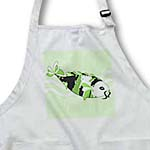 click on Koi Fish White Face - Green to enlarge!