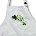 click on Koi Fish Grey Face - Green to enlarge!