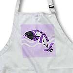 click on Koi Fish Grey Face - Purple to enlarge!