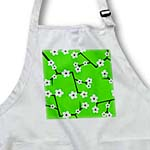 click on Bright Cherry Blossoms Print - Green to enlarge!
