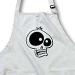 click on CARTOON SKULL cartoon skull 3s on white to enlarge!