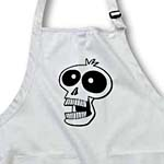 click on CARTOON SKULL cartoon skull 2s on white to enlarge!