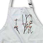 click on Into A Blue Sky - Spring Cherry Blossoms - Floral Print to enlarge!