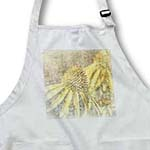 click on Inspired Echinacea Garden Floral - Yellow Summer Flowers to enlarge!