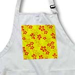 click on Tropical Orange and Yellow Flowers - Hawaiian Inspired Floral Print to enlarge!