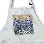 click on Romantic Garden Lavender Flowers - Inspired Floral Print to enlarge!
