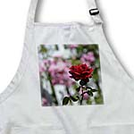 click on Romantic Red Rose Inspired Garden Flower - Floral Print to enlarge!