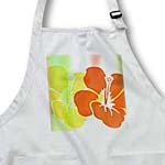 click on Yellow and Orange Tropical Flowers - Hawaiian Inspired Floral Print to enlarge!