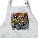 click on Beautiful Garden of Roses with A White Picket Fence - Flowerso to enlarge!