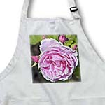 click on Romantic Pink Peony Inspired Garden Flowers - Floral Print to enlarge!