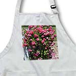 click on Rose Bush Romantic Garden - Pink Flowers - Floral Print to enlarge!