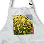 click on Pretty Garden of Yellow Black Eyed Susan Flowers - Floral Print to enlarge!