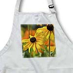 click on Two Yellow Black Eyed Susan Flowers - Summer Floral Print to enlarge!
