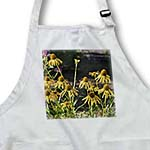 click on Summer Flowers - Yellow Echinacea - Floral Print to enlarge!