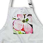 click on Painted Floral - Pink Dogwood Flower - Inspired Art to enlarge!