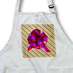 click on Christmas Gift in Textured Wrapping Paper with Red and Purple Bow to enlarge!