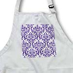 click on Formal Damask With Royal Purple On White to enlarge!