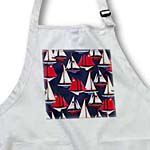 click on Sailboats n Schooners With USA Flags On Navy  to enlarge!