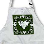click on Swirl and heart design on green to enlarge!