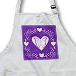 click on Swirl and heart design on purple to enlarge!