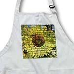 click on Brick Wall Yellow Sunflower - Nature Inspired Floral Print to enlarge!